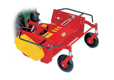 TSM Mulcher for two-wheel tractors