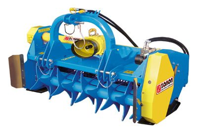 TCK Mulcher for vineyards and orchards