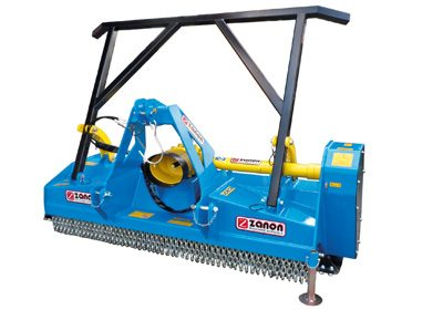 TL forest mulcher with widia roller inserts