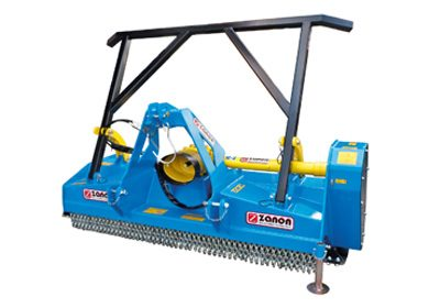 TM forest mulcher with hammer roller