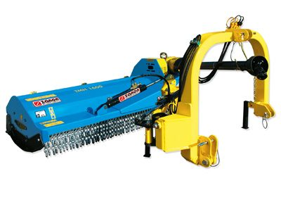 TMH verge mulcher duty version – external gearbox