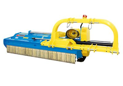 TRE mulcher heavy duty with lateral movement