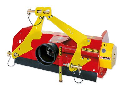 TSM knife mulcher for cultivators and garden tractors