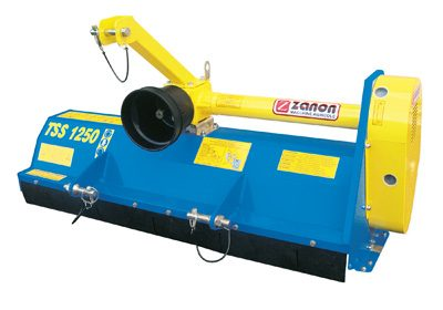 TSS mulcher for low power tractors