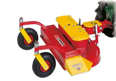ZRA double blade lawn mower