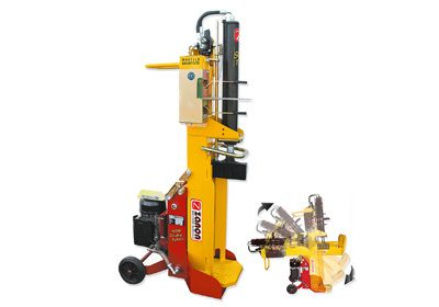 SLE 9 log splitter