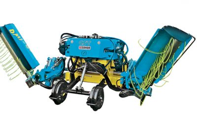 CST+DMI DOPPIA Double inter-row weeder