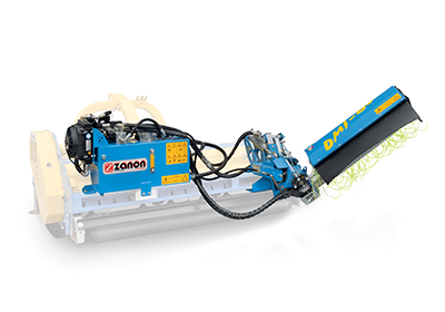 DMI Inter-row weeder for flail mower