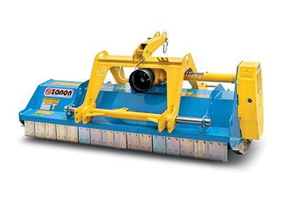 TFM/R Reversible mulcher light duty with discharge behind the roller