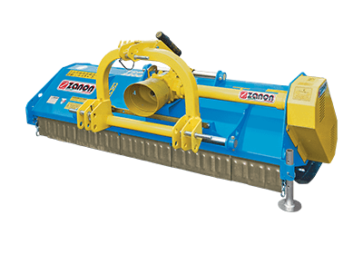 TSP Mulcher medium duty with discharge behind the roller