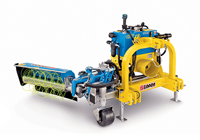 CST+DMI singola Indipendent castle with inter-row mechanical weeder
