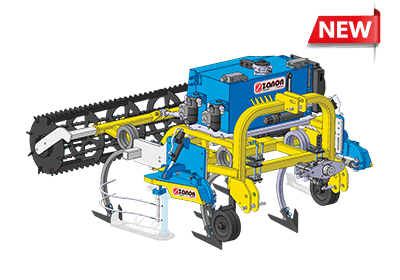 CTV PRO Cultivator and tool carrier